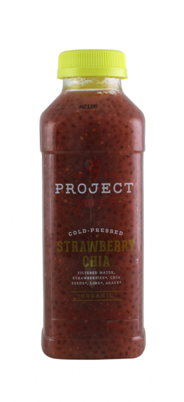 Project Juice: ProjectJuice StrawberryChia Front