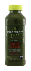ProjectJuice GreenGinger Front