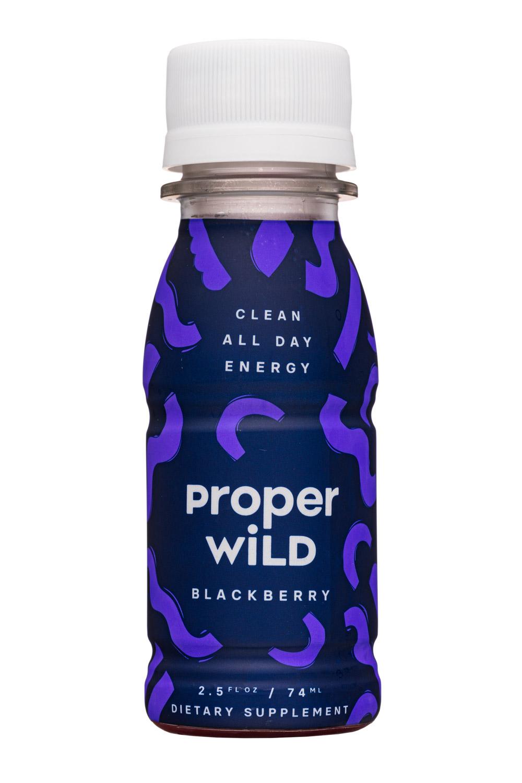 Proper Wild: ProperWild-3oz-Energy-Blackberry-Front