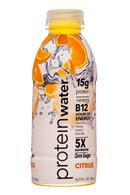 Protein Water: ProteinWater-17oz-Citrus-Front