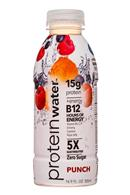 Protein Water: ProteinWater-17oz-Punch-Front