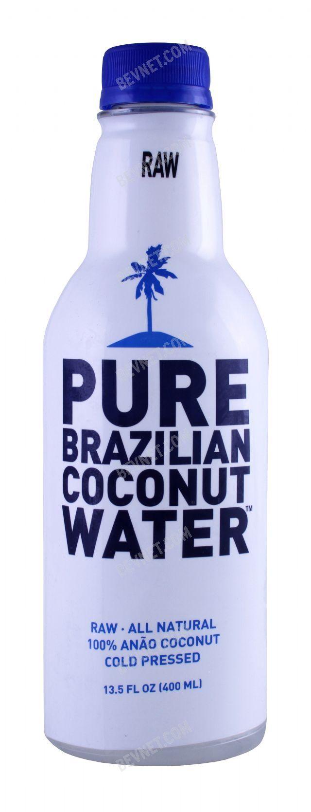 Pure Brazilian Coconut Water: