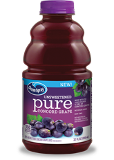 Unsweetened Pure Concord Grape
