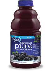 Unsweetened Pure Blackberry