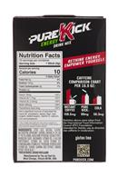 Pure Kick: PureKick-1oz-EnergyDrinkMix-BlackCherryPom-Facts