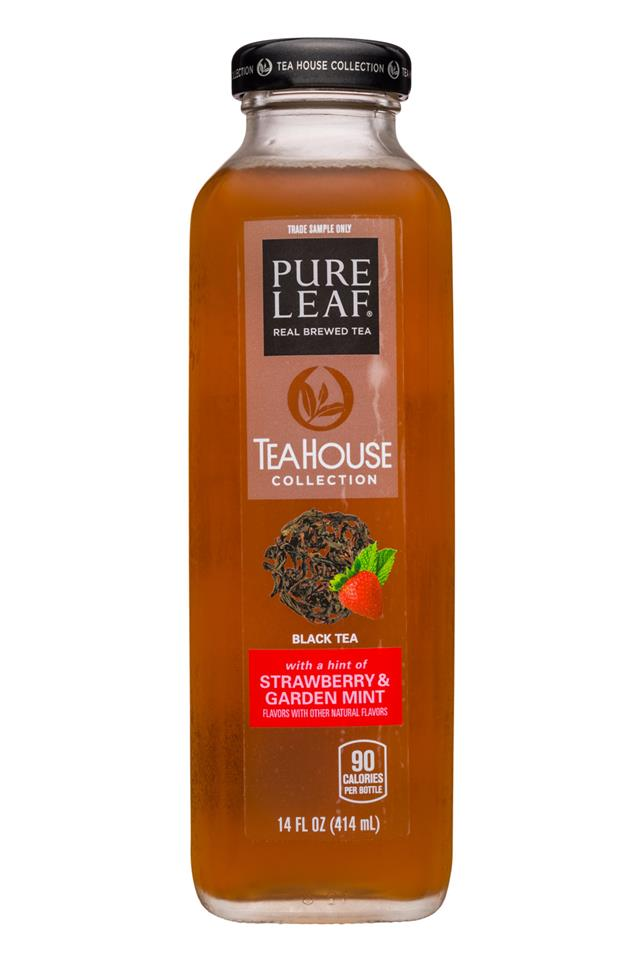 Pure Leaf TeaHouse Collection: PureLeaf-14oz-TeaHouse-StrawbGardenMint-Front