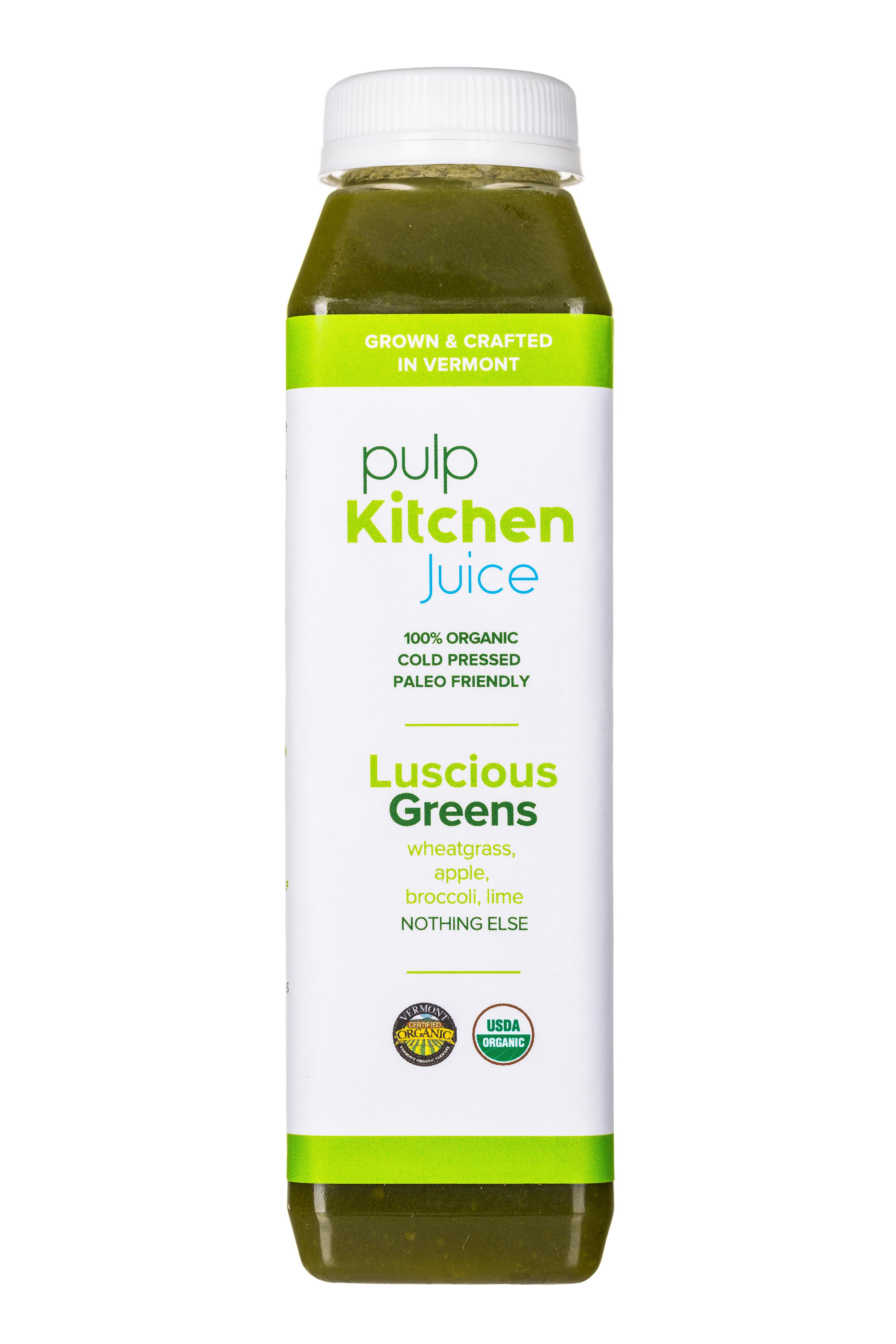 Pulp Kitchen Juice: PulpKitchen-Juice-LusciousGreens-Fronts