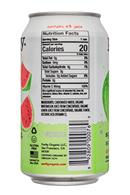 Purity Organic Sparkling: Purity-12ozCan-Sparkling-Watermelon-Facts
