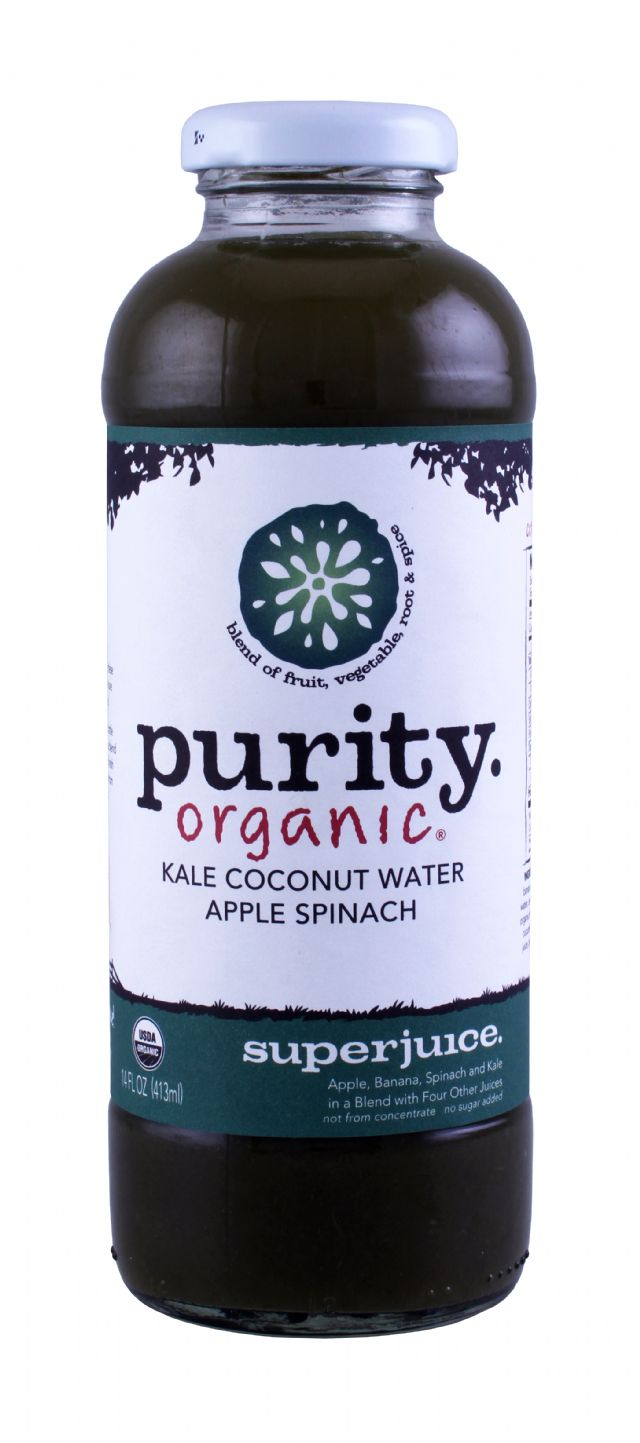 Purity Organic Superjuice: Purity KaleSpinach Front
