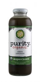 Purity Organic Superjuice: PurityOrganic GreenLemonade Front
