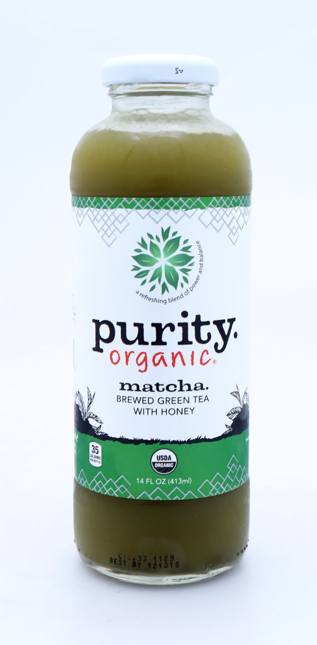 Purity Organic Teas: Purity MatchaHoney Front