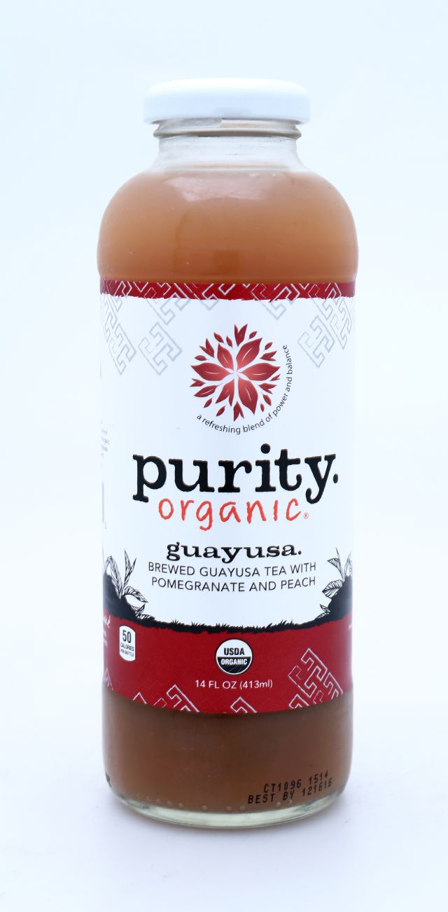 Purity Organic Teas: Purity Guayusa Front