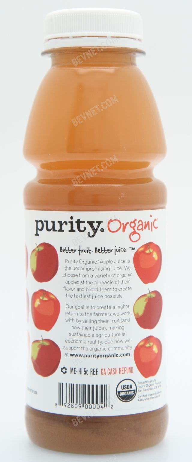 Purity Organic Juices: