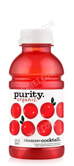 Purity Organic Juices: Cranberry Cocktail