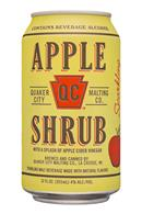 QC Malt: QuakerCityMaltingCo-12oz-Shrub-Apple