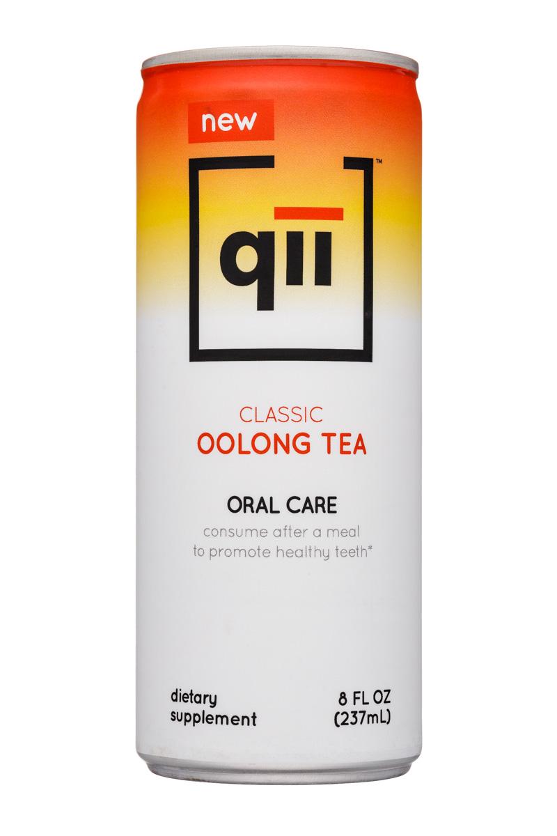Qii: Qii-8oz-OralCare-Tea-Oolong-Front