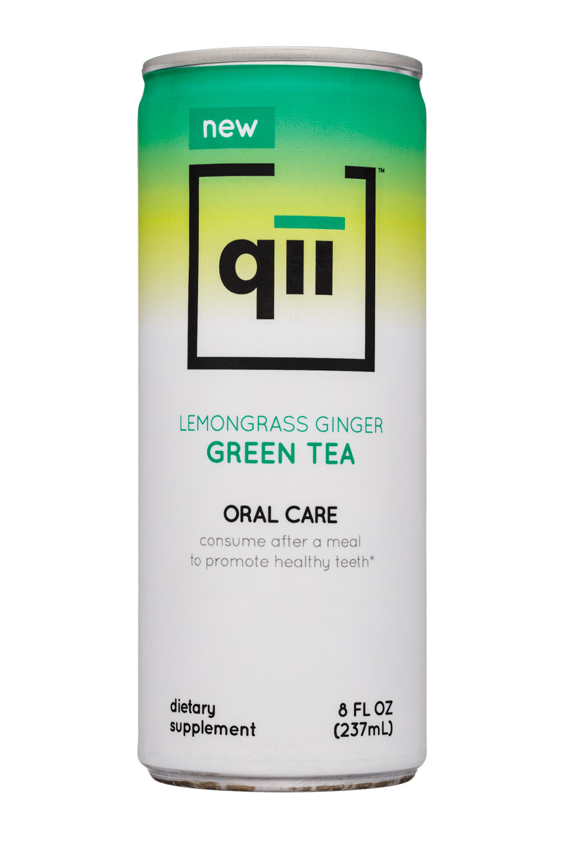 Qii: Qii-8oz-OralCare-Tea-Green-Front