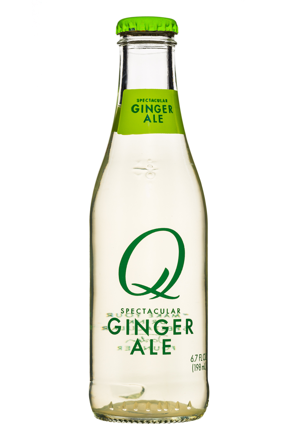 Q drinks: Q-Spectacular-7oz-GingerAle-Front