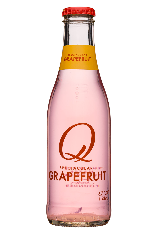 Q drinks: QDrinks-7oz-Grapefruit-Front