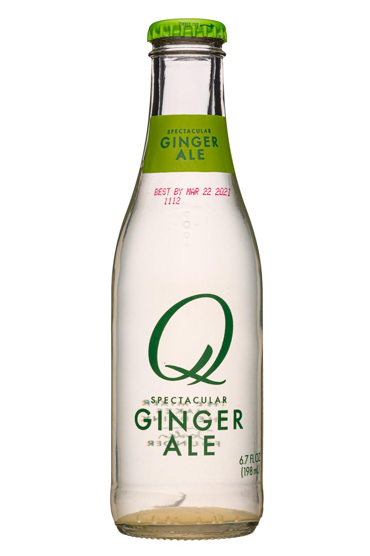 Q drinks: QDrinks-7oz-GingerAle-Front