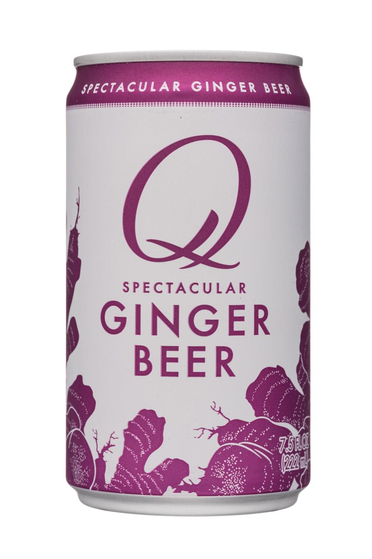 Q drinks: QDrinks-8oz-Spectacular-GingerBeer-Front