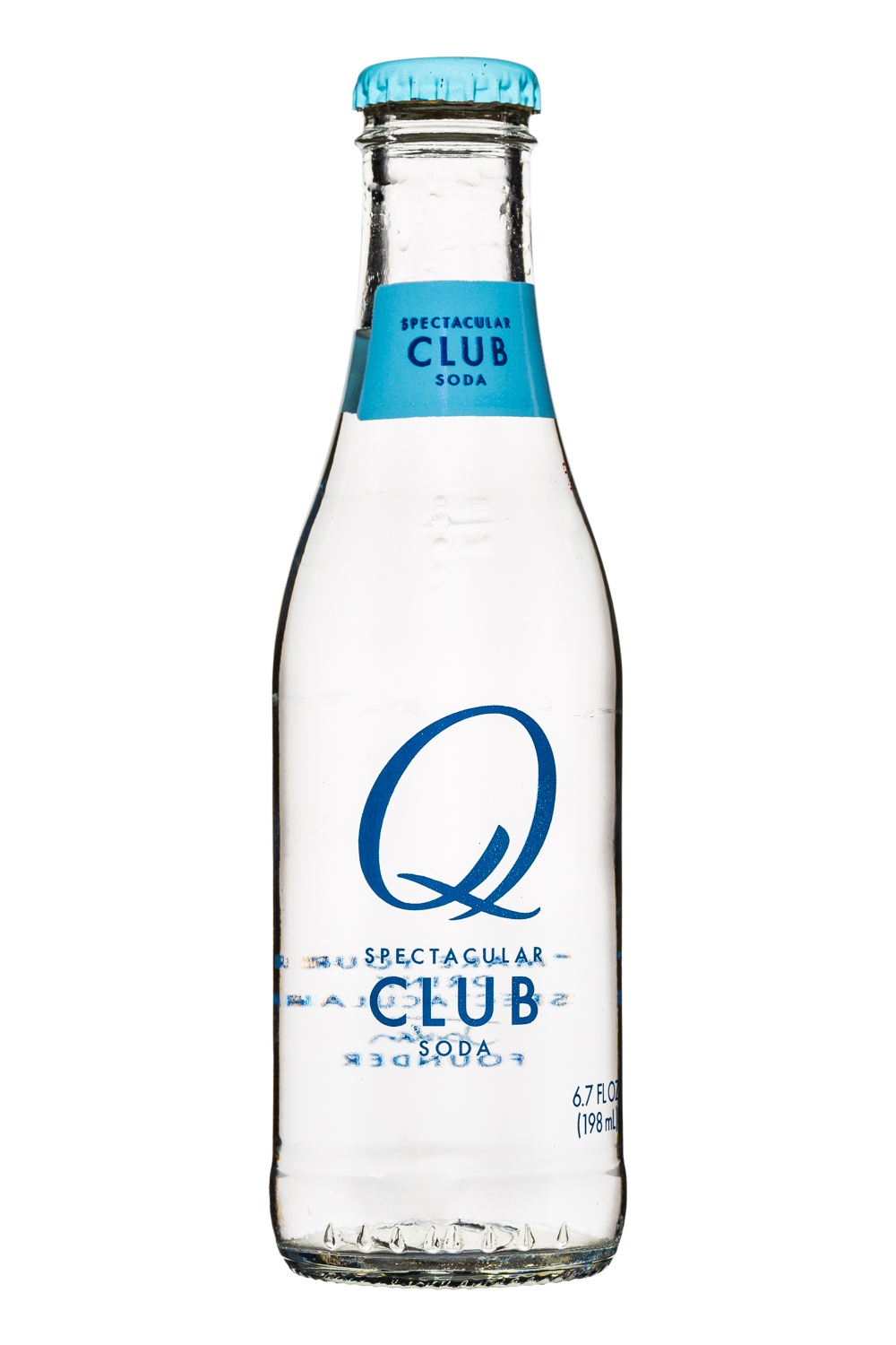 Q drinks: Q-Spectacular-7oz-ClubSoda-Front
