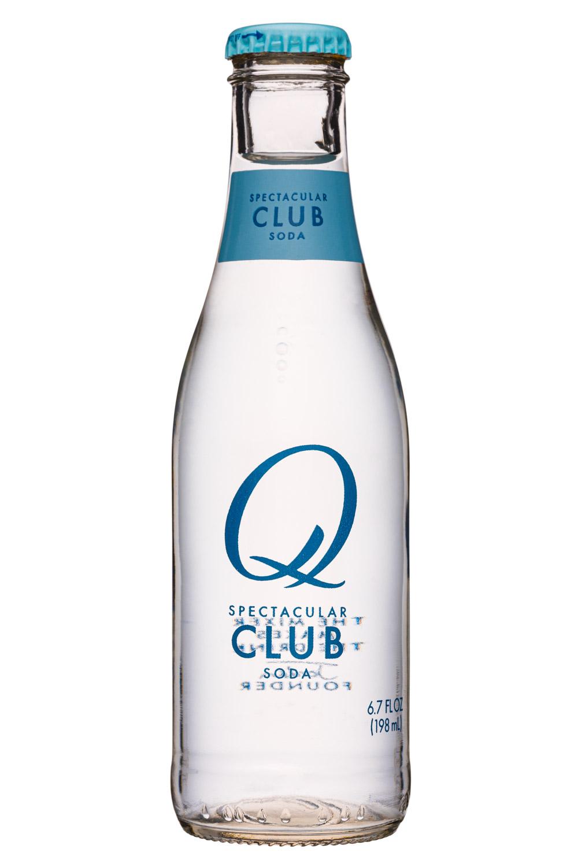 Q drinks: QDrinks-7oz-ClubSoda-Front