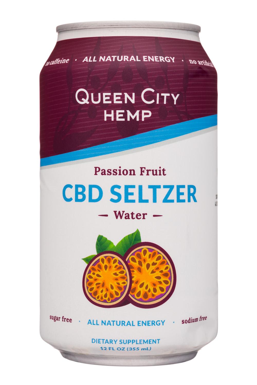 Passion Fruit - CBD Seltzer