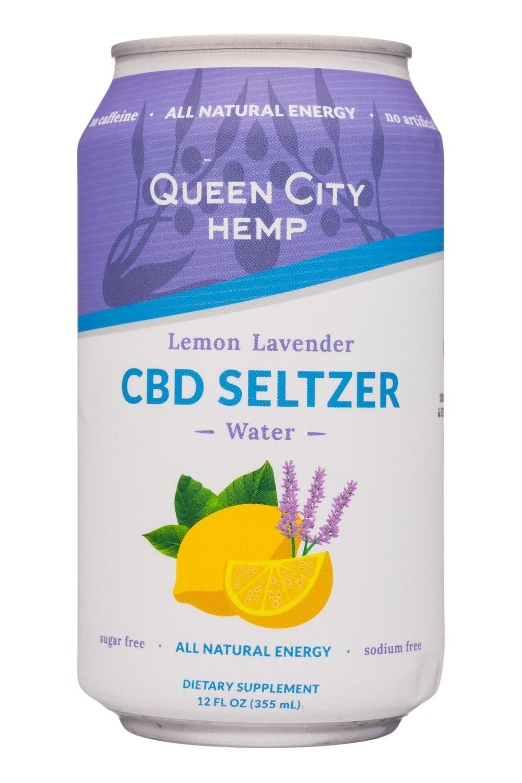 Lemon Lavender - CBD Seltzer