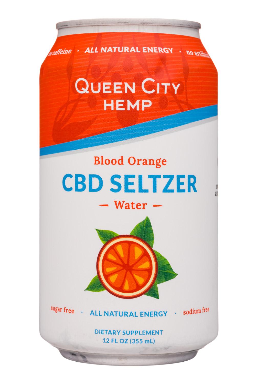 Blood Orange - CBD Seltzer