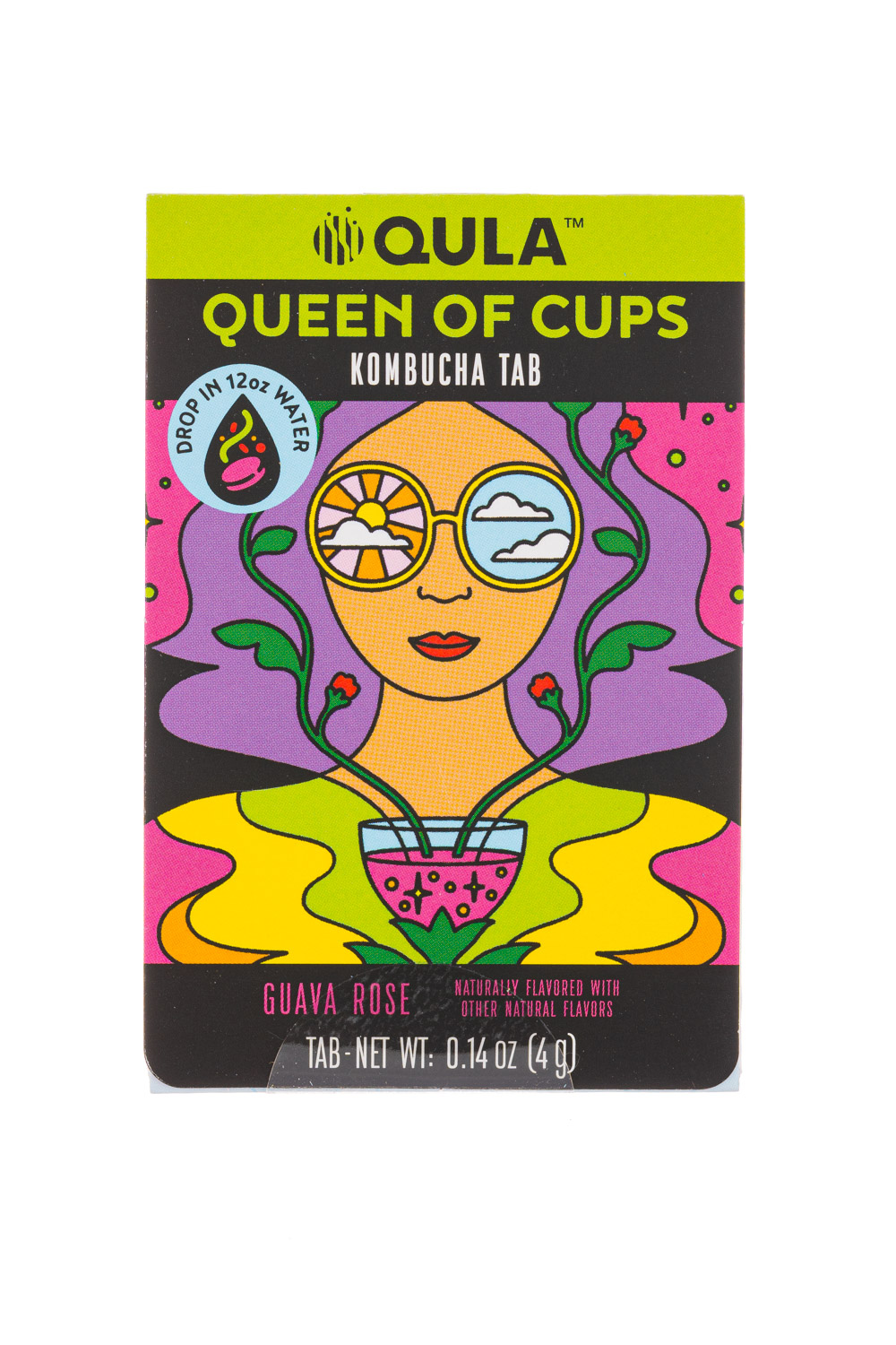 Queen Of Cups Kombucha Tab