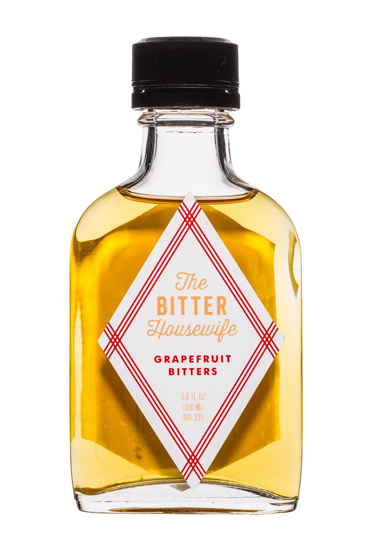 Improper Goods: TheBitterHousewife-Bitters-3oz-Grapefruit-Front