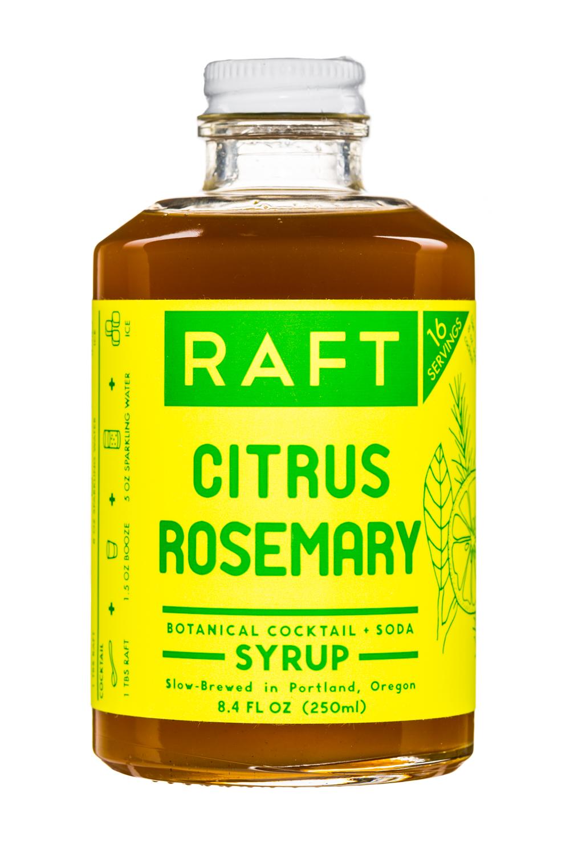 Improper Goods: ImproperGoods-Raft-Syrup-8oz-CitrusRosemary-Front