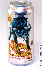 Sugar Free Raw Dawg Energy Drink