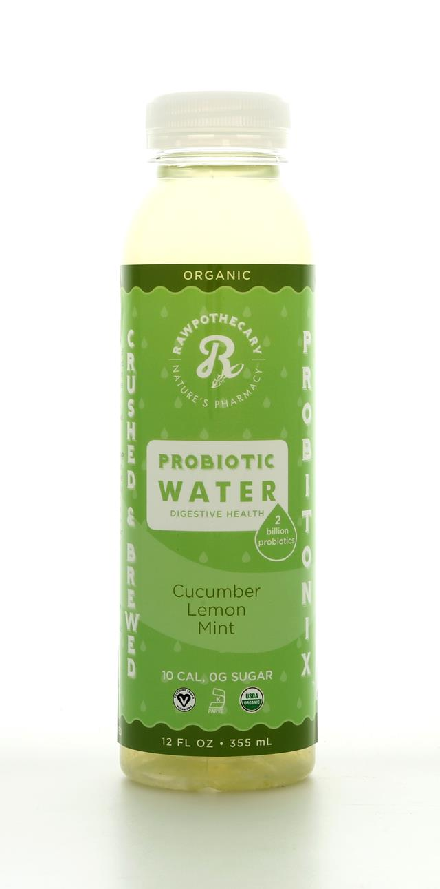 Rawpothecary Probiotic Water: Rawpothecary CucLemMint Front