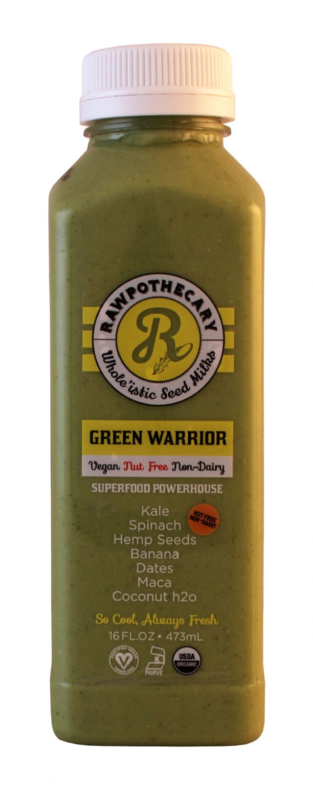 Rawpothecary: Raw GreenWarrior Front