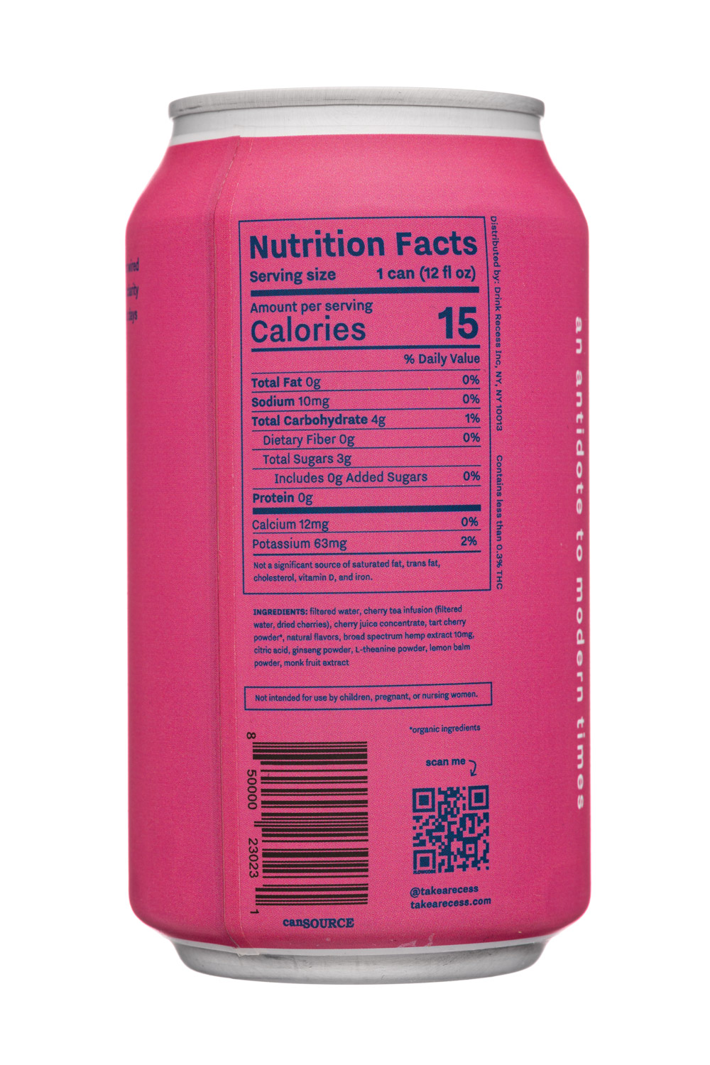 Recess: Recess-12oz-2020-SparklingHempInfused-BlackCherry-Facts