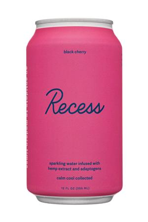 Recess: Recess-12oz-2020-SparklingHempInfused-BlackCherry-Front