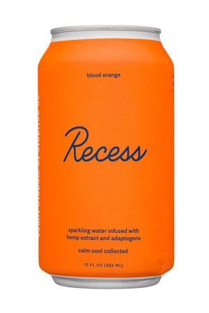 Recess: Recess-12oz-2020-SparklingHempInfused-BloodOrange-Front