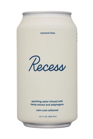 Recess: Recess-12oz-2020-SparklingHempInfused-CoconutLime-Front