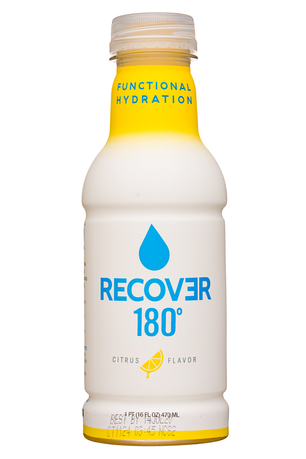 Recover 180°: Recover180-16oz-Hydration-Citrus-Front