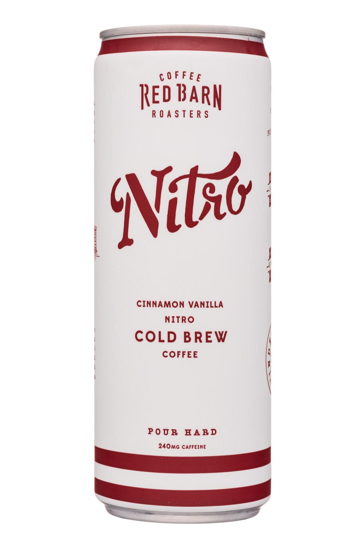 Cinnamon Vanilla Nitro Cold Brew Coffee