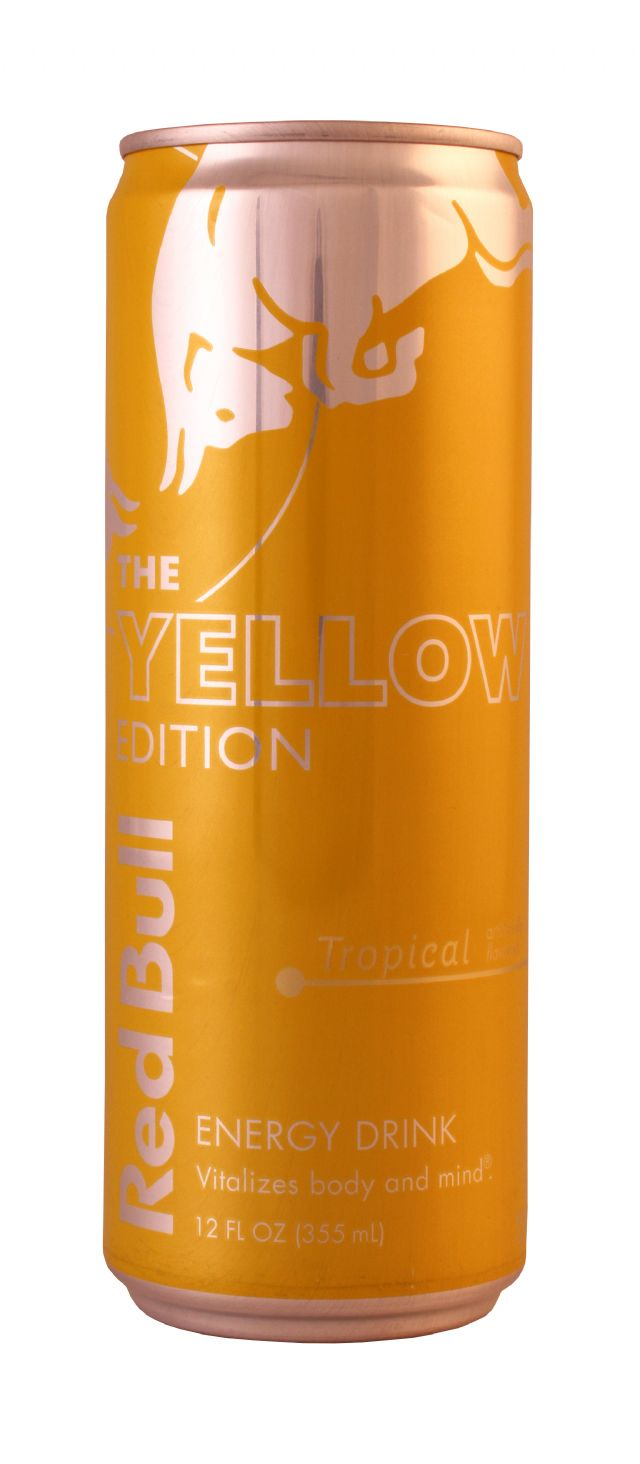 Red Bull Editions: RedBULL YellowTrop Front