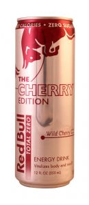 Red Bull Editions: RedBULL Cherry Front