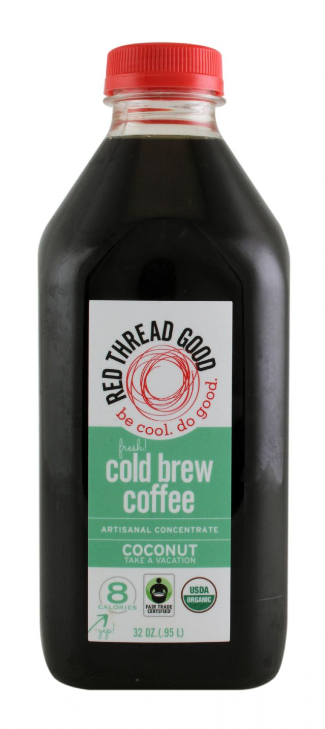 Red Thread Good Coffee: RedThreadGood Coconut Front