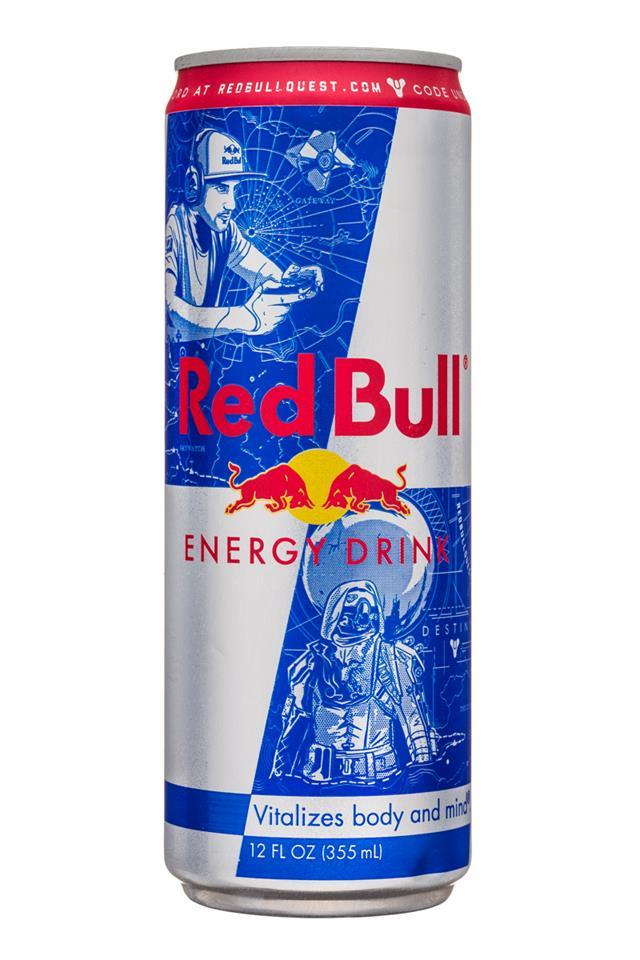 Red Bull Energy Drink: RedBull-12oz-Front