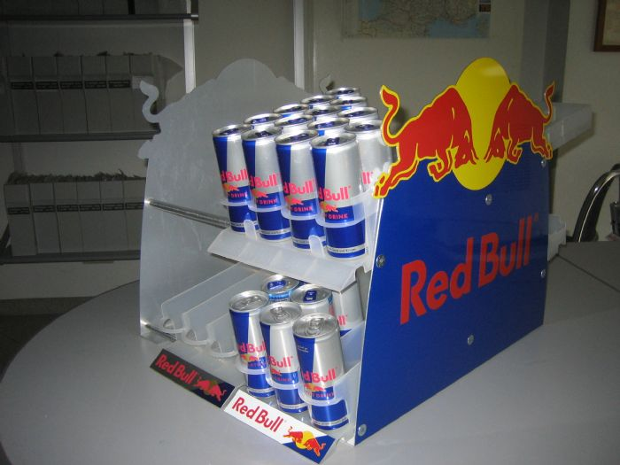 Red Bull Energy Drink: Red Bull Double stacker
