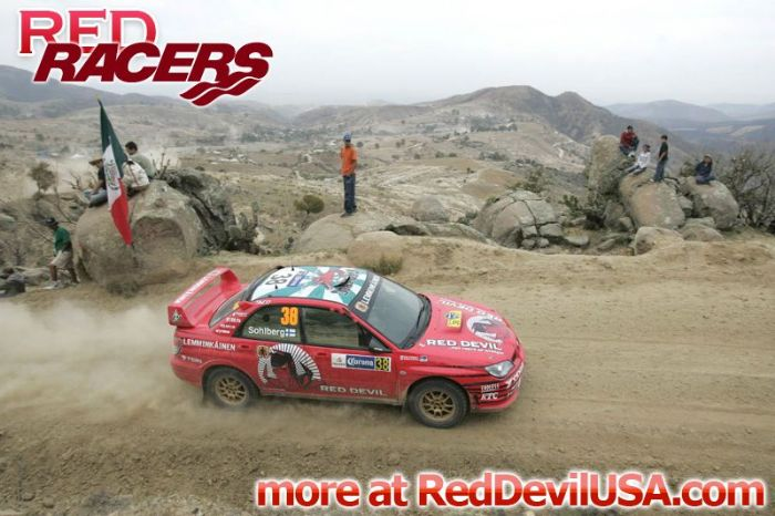 Red Devil Energy Drink: Red Devil Rally Racer Kristian Sohlberg