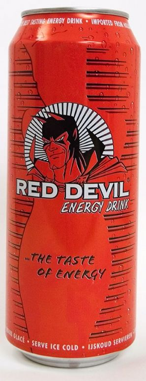 Red Devil Energy Drink:
