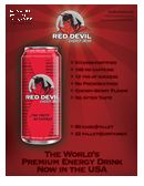 Red Devil Energy Drink: Red Devil Original Formula Sell Sheet